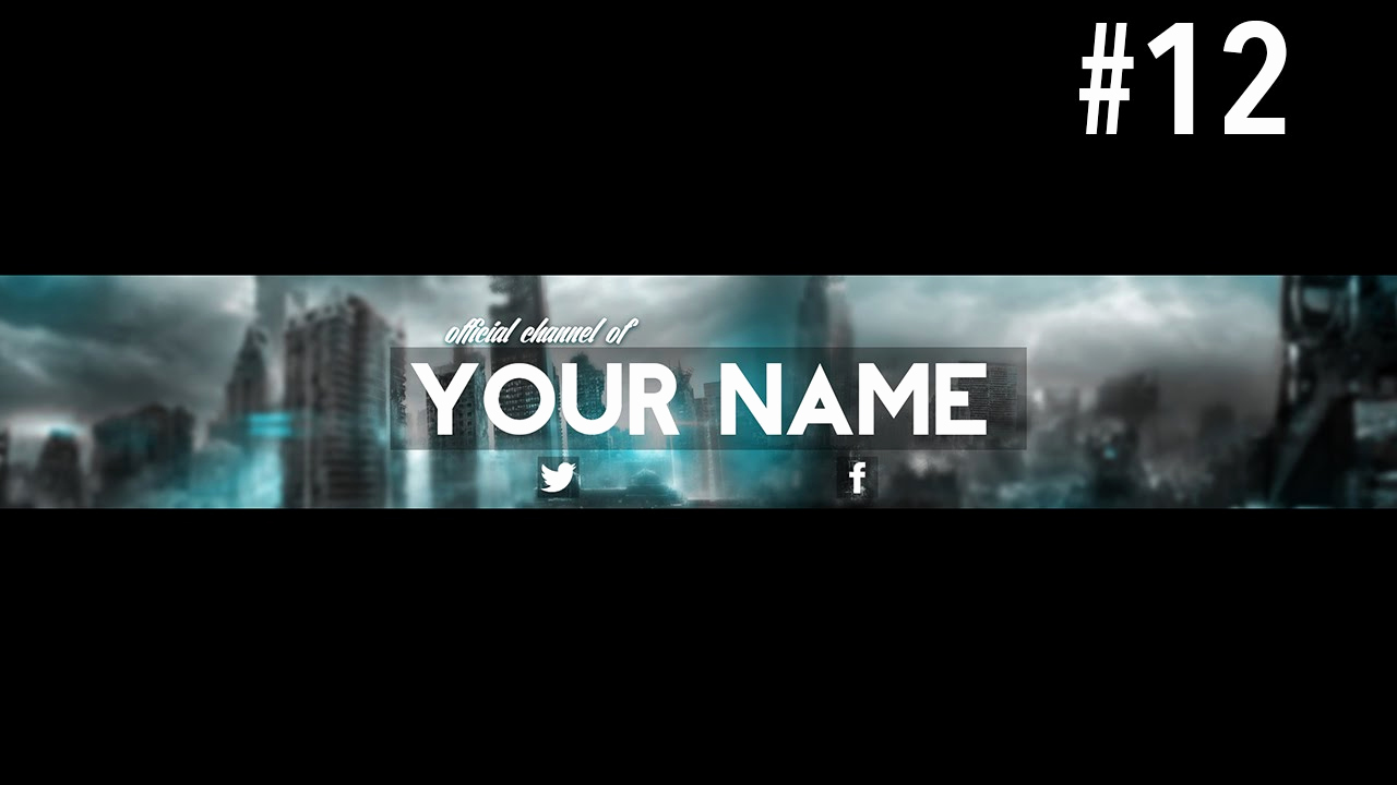 Youtube Banner Template Photoshop Beautiful Youtube Banner Template Psd