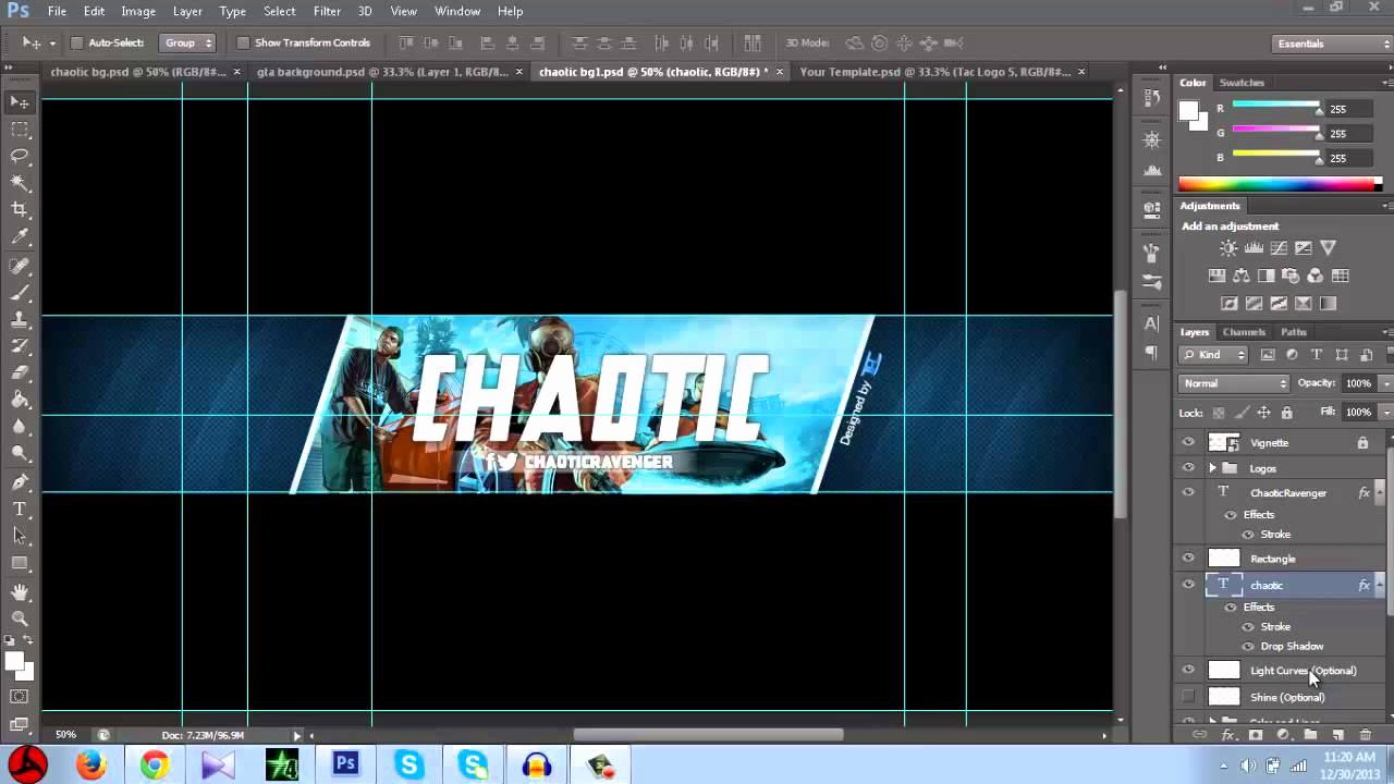 Youtube Banner Template Photoshop Elegant Free Gta 5 Youtube Banner Template Shop Cs6