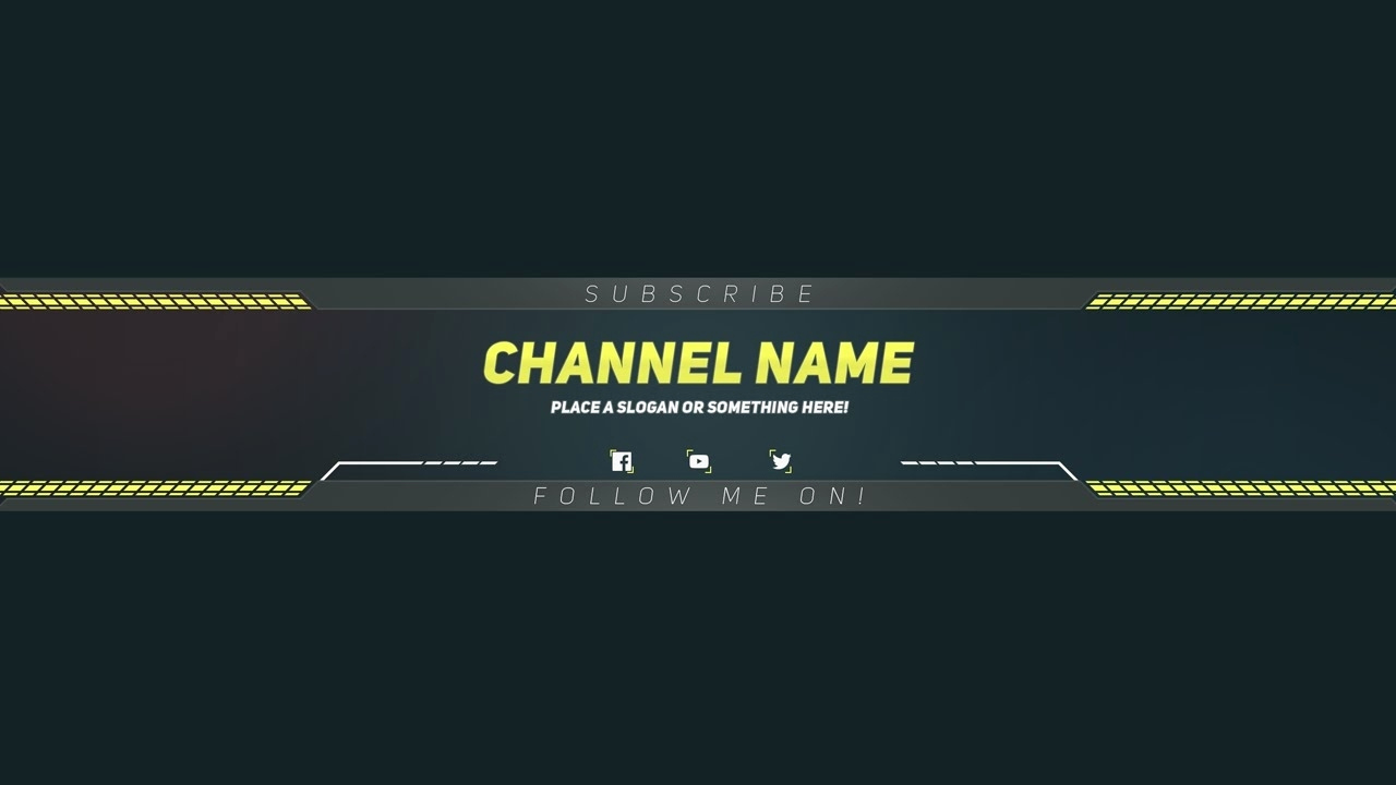 Youtube Banner Template Photoshop Fresh Youtube Banner Templates