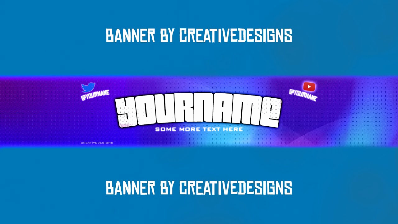 """Youtube Banner Template Photoshop Inspirational Free Banner Template """"disco Banner Template"""