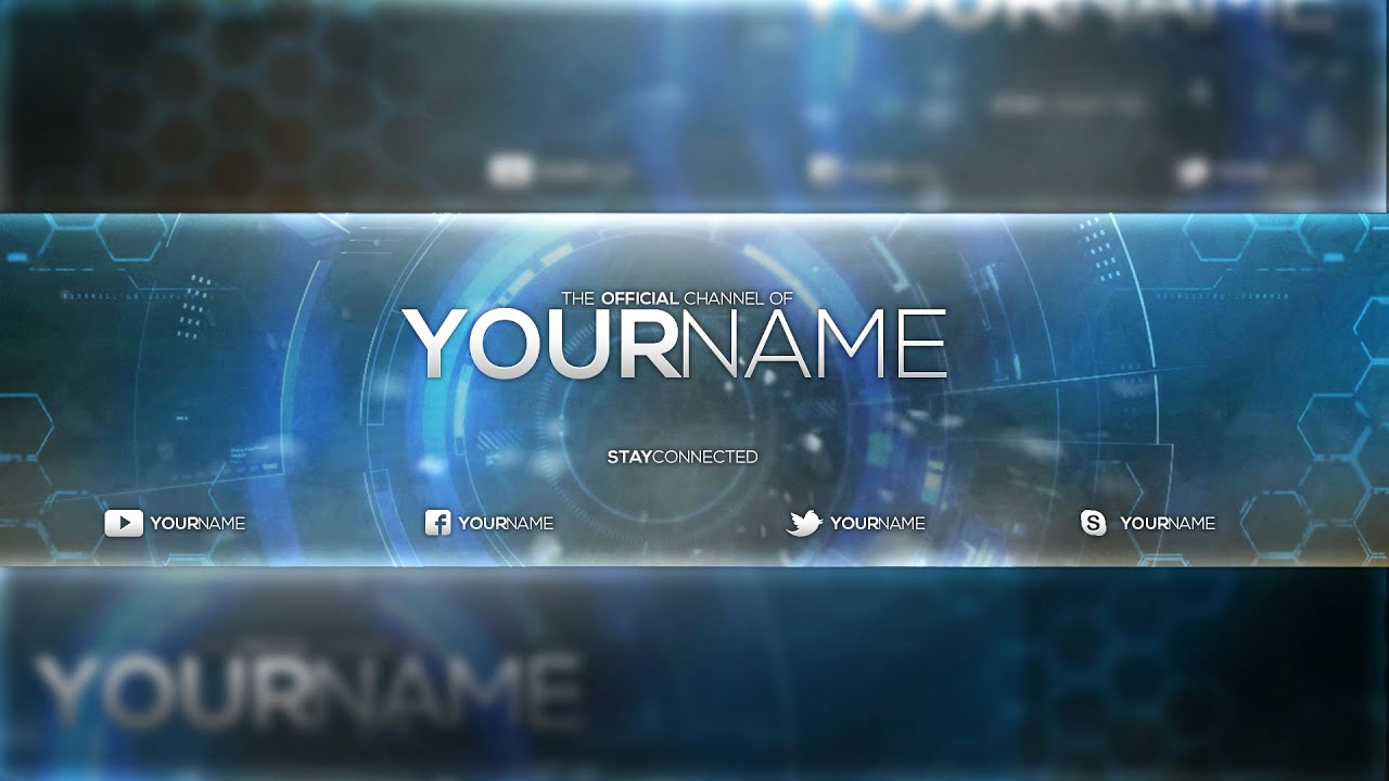 Youtube Banner Template Photoshop Luxury Free Banner Template Psd Shop Cc & Cs6