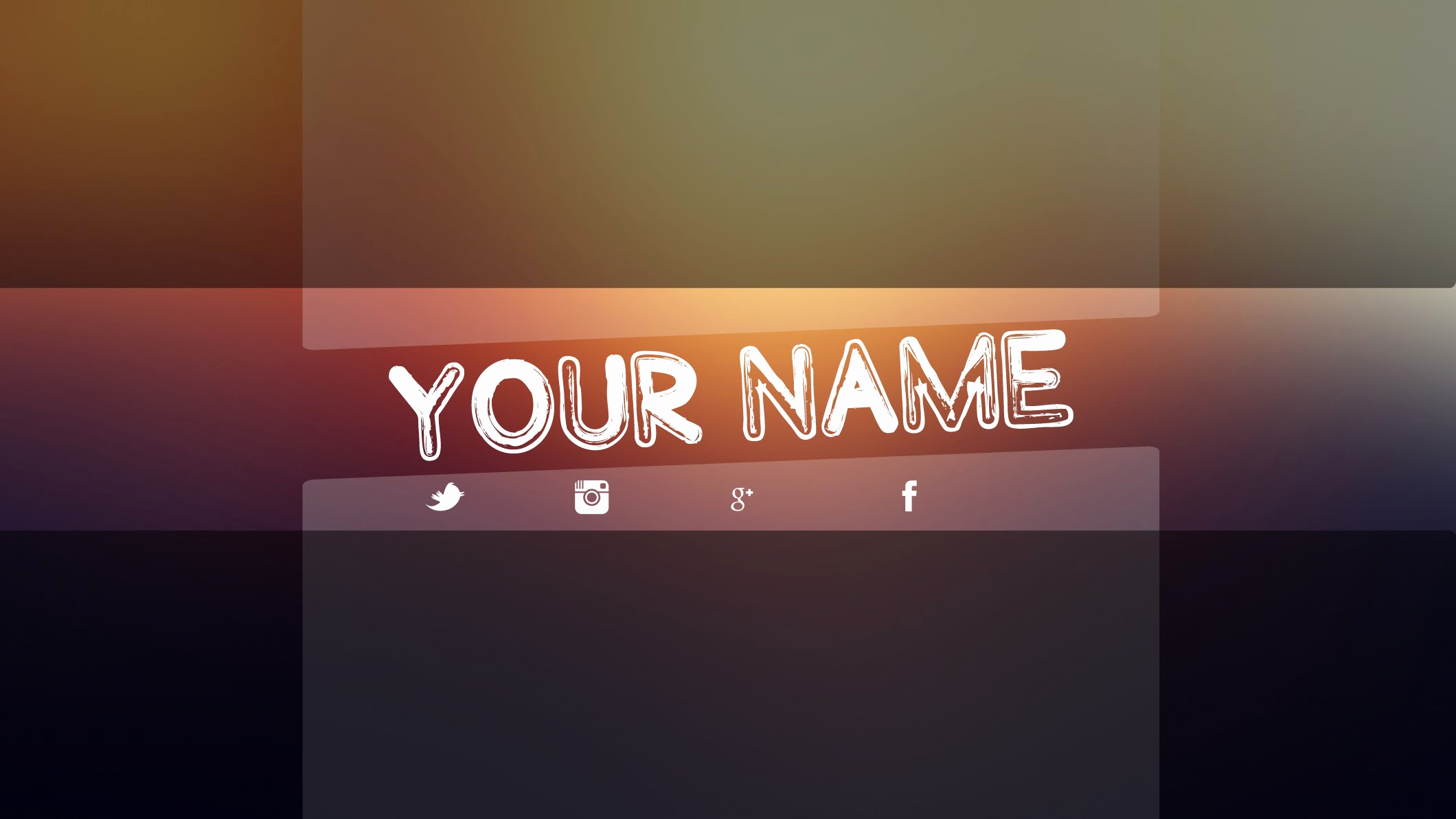 Youtube Banner Template Photoshop Luxury Youtube Banner Template Psd