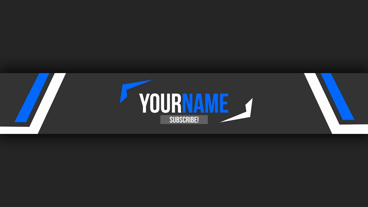 Youtube Banner Template Photoshop New Free Youtube Banner Template 10