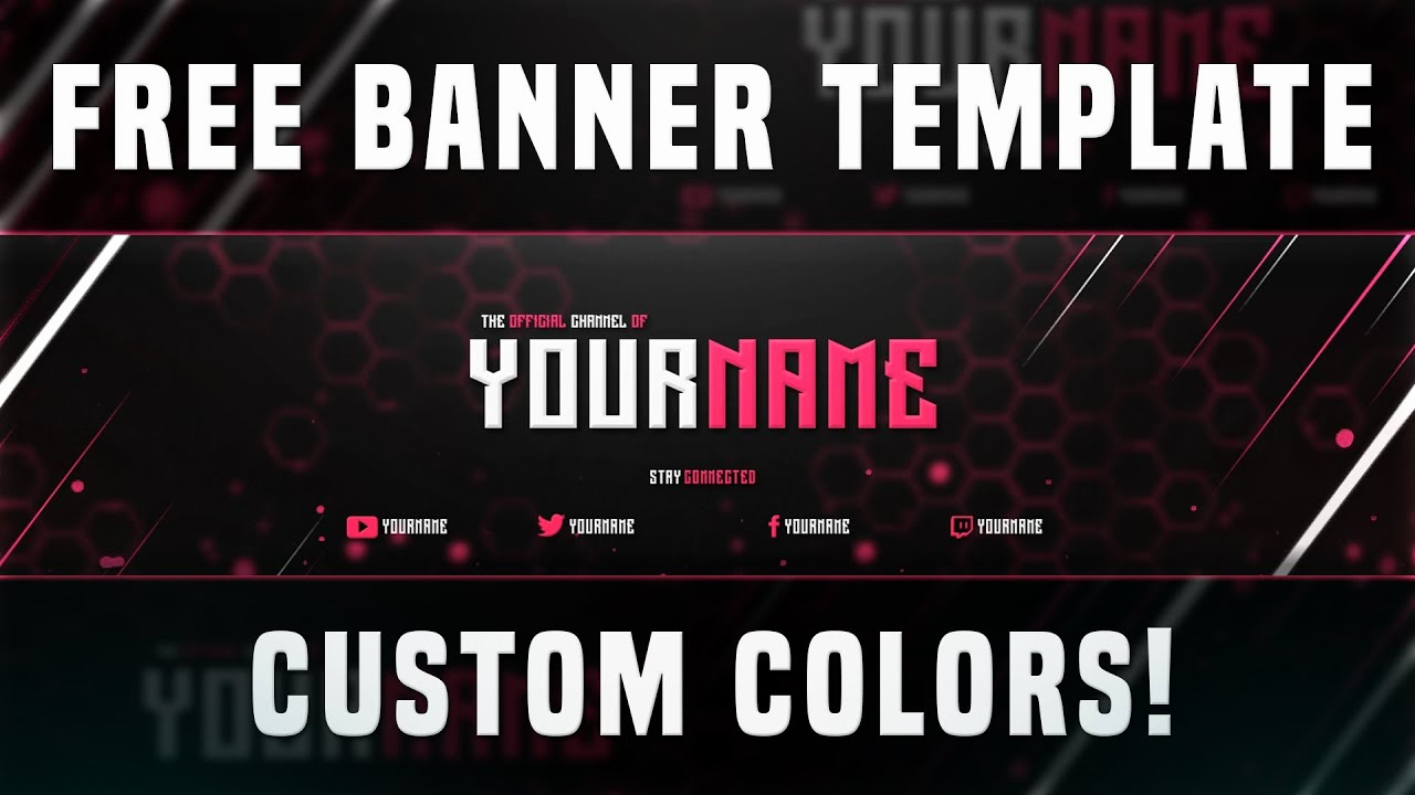 Youtube Banner Template Photoshop Unique Free Banner Template Shop 2016