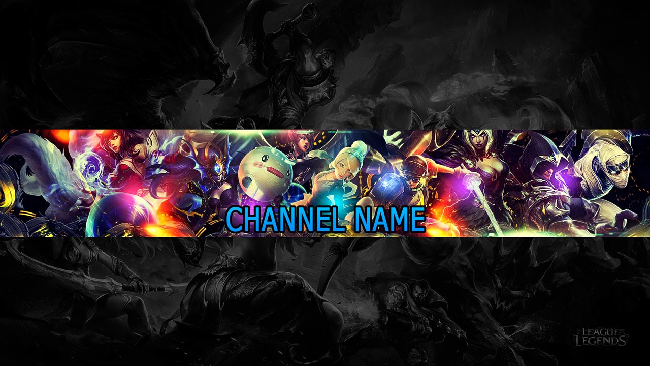 Youtube Channel Art Backgrounds Inspirational Speed Art Free Youtube Channel Art Banner 9 League