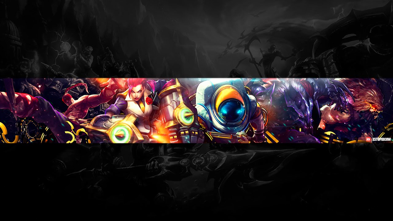 Youtube Channel Art Backgrounds New Speed Art Free Youtube Channel Art Banner 10 League