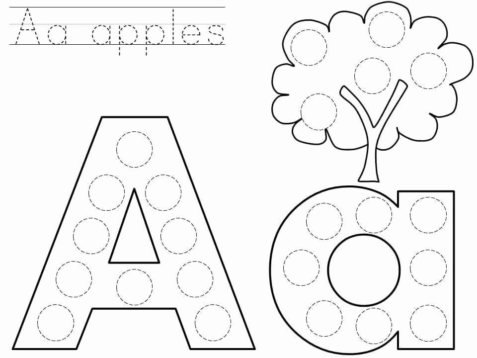 Letter A Printable Beautiful Letter A Alphabet Printable Preschool and Homeschool