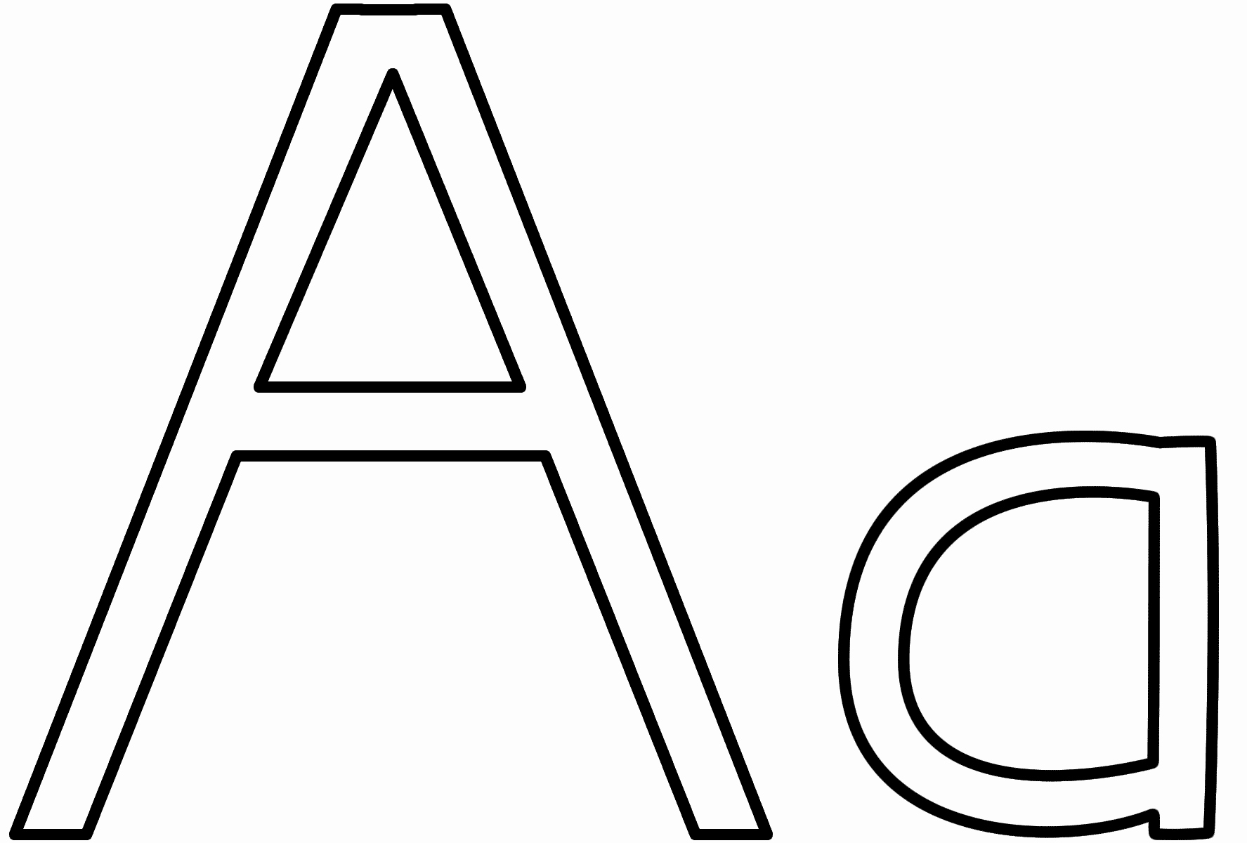 Letter A Printable Lovely Letter A Coloring Pages Preschool and Kindergarten