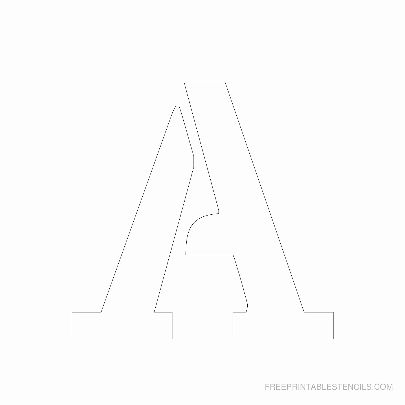 Letter A Printable Lovely Printable 4 Inch Letter A Alphabet Printable