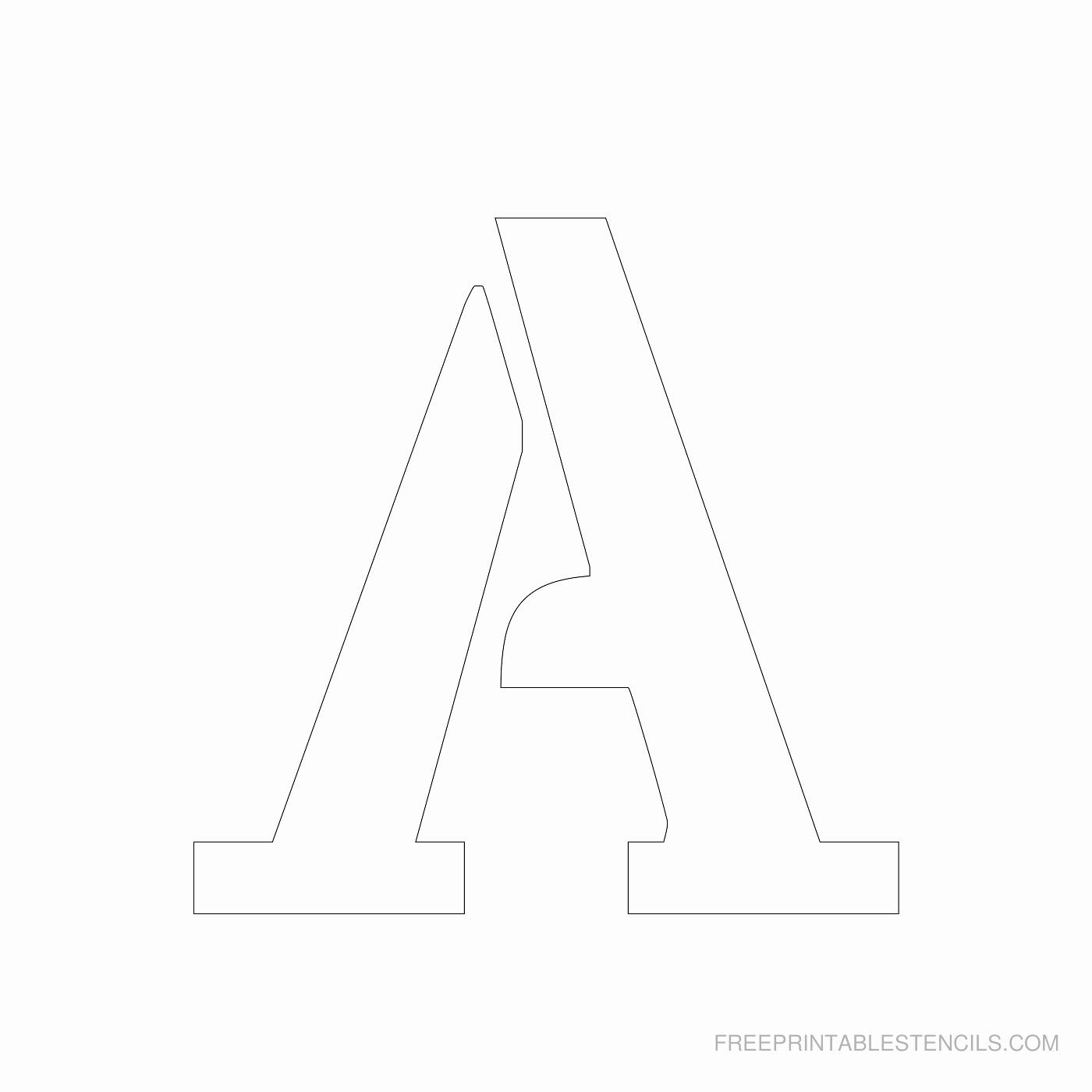 Letter A Printable Lovely Printable 4 Inch Letter A Alphabet Printable