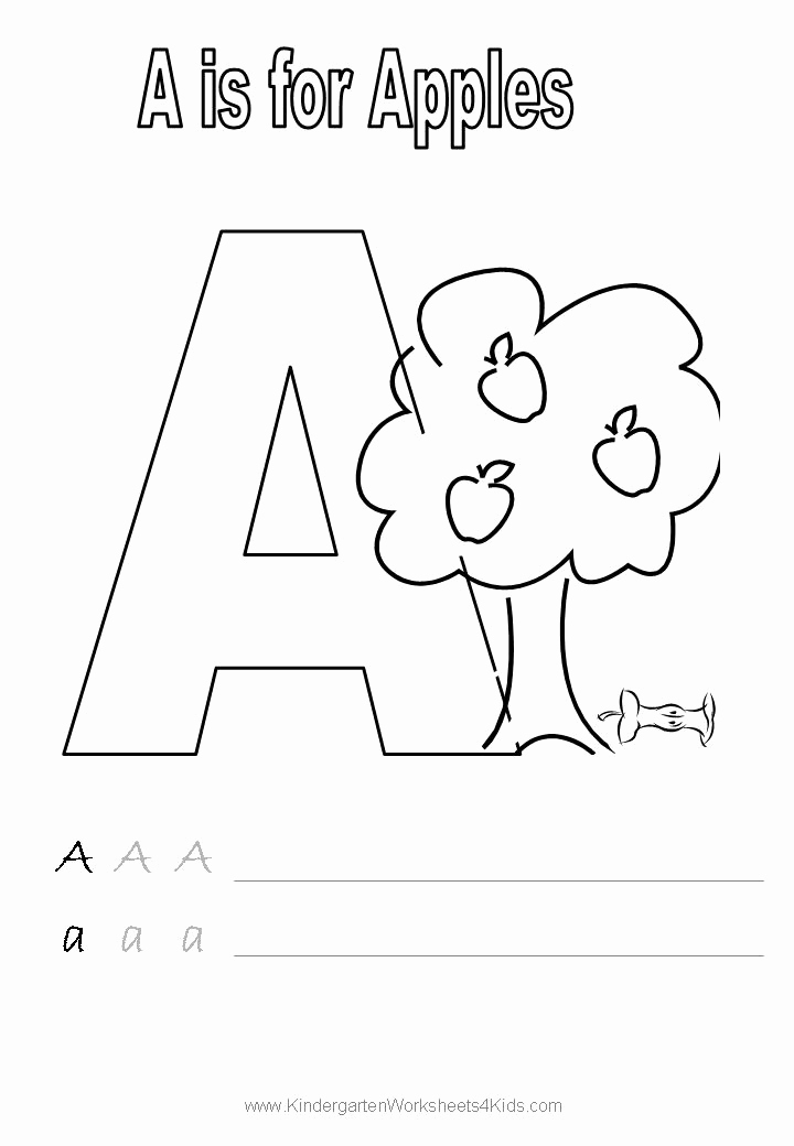 Letter A Printable New Letter A Worksheets and Activities