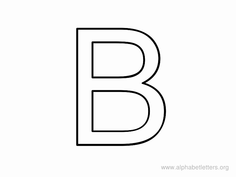 Letter B Printable Fresh Letter B Coloring Pages Preschool and Kindergarten