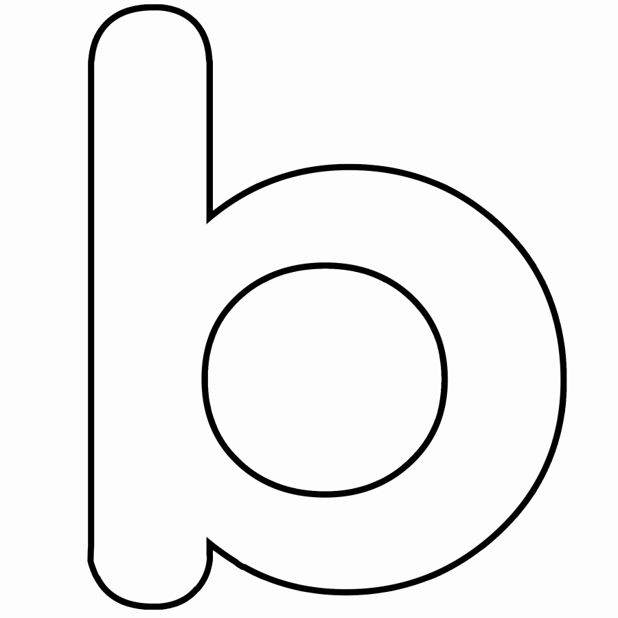 Letter B Printable Luxury Letter B Coloring Pages Preschool and Kindergarten